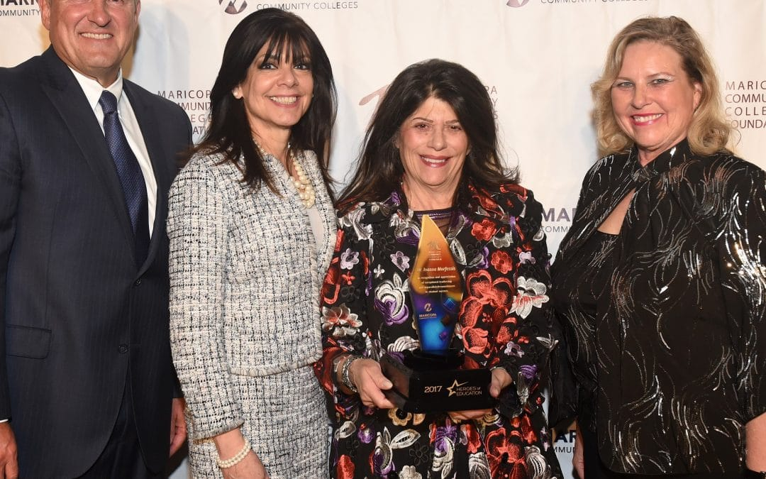 MCCF Honors 2017 Hero of Education, Dr. Ioanna Morfessis