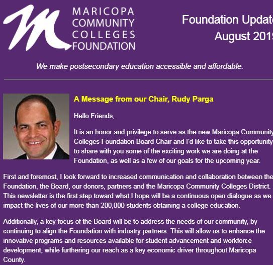 Issue 2 of Foundation Update Now Available